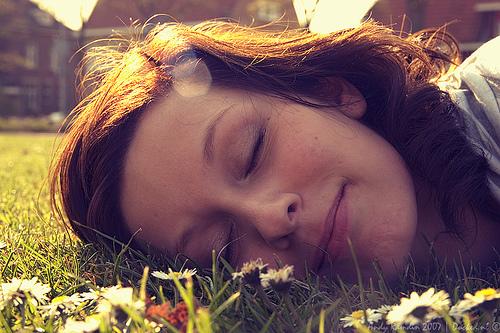 Sanne Relaxes