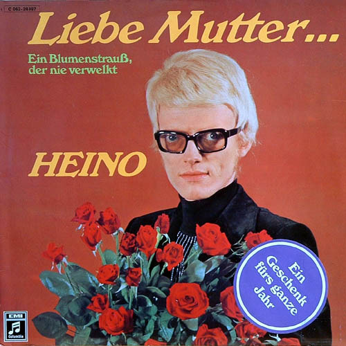Liebe mutter, Heino record cover